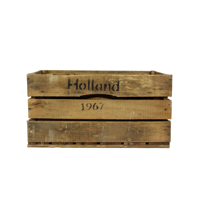 Houten Holland kisten