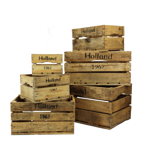 Wooden Holland crates